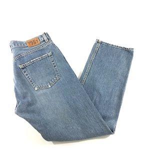 Gap Vintage Boy Fit Ankle Button Fly Jeans